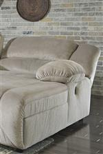 Adjustable Back on Press Back Chaise