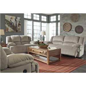 Signature Design by Ashley Toletta - Granite Reclining Living Room Group