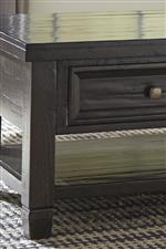 Framed Drawer Fronts and Rustic Distressing