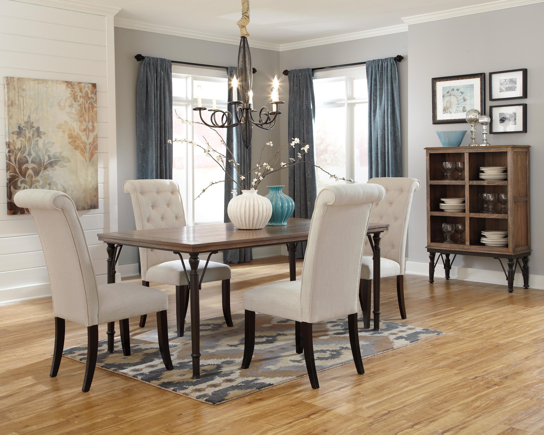 signature designashley tripton 7-piece rectangular dining room