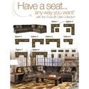Signature Design by Ashley Furniture Truscotti - Cafe Contemporary 2-Piece Sectional with Sofa and Left Chaise