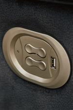 Power Recline Controls with USB Charger