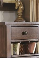 Optional Hutch Can Be Used with Desk