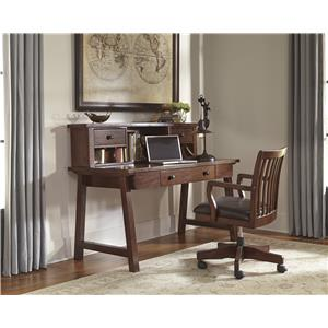Signature Design by Ashley Wassner Home Office Large Leg Desk with Drawer
