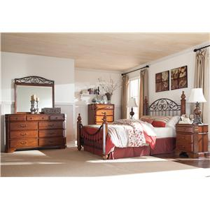 Signature Design by Ashley Wyatt King Bedroom Group