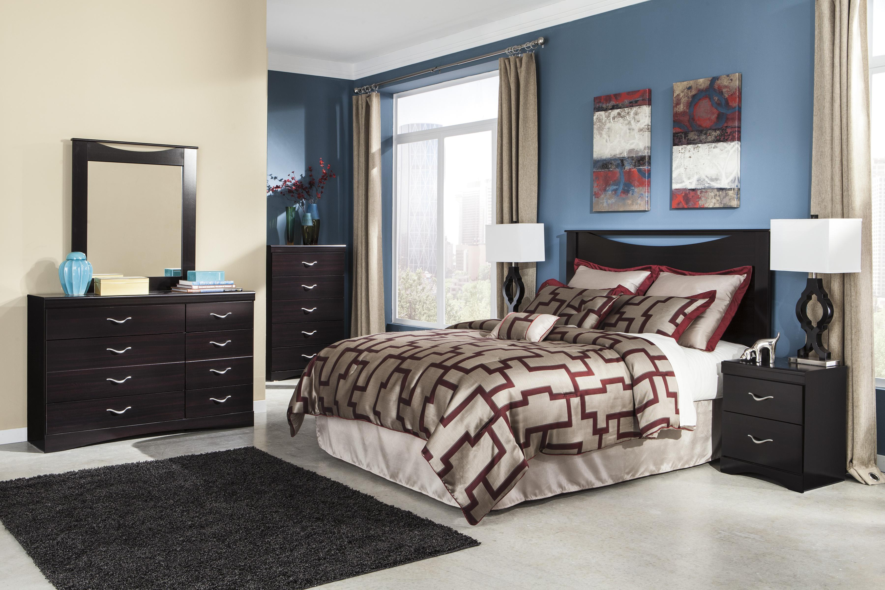 Signature design by ashley zanbury queen full bedroom - Ashley furniture full bedroom sets ...