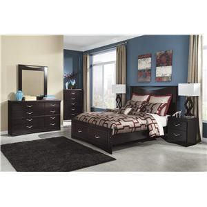 Signature Design by Ashley Zanbury Queen Bedroom Group