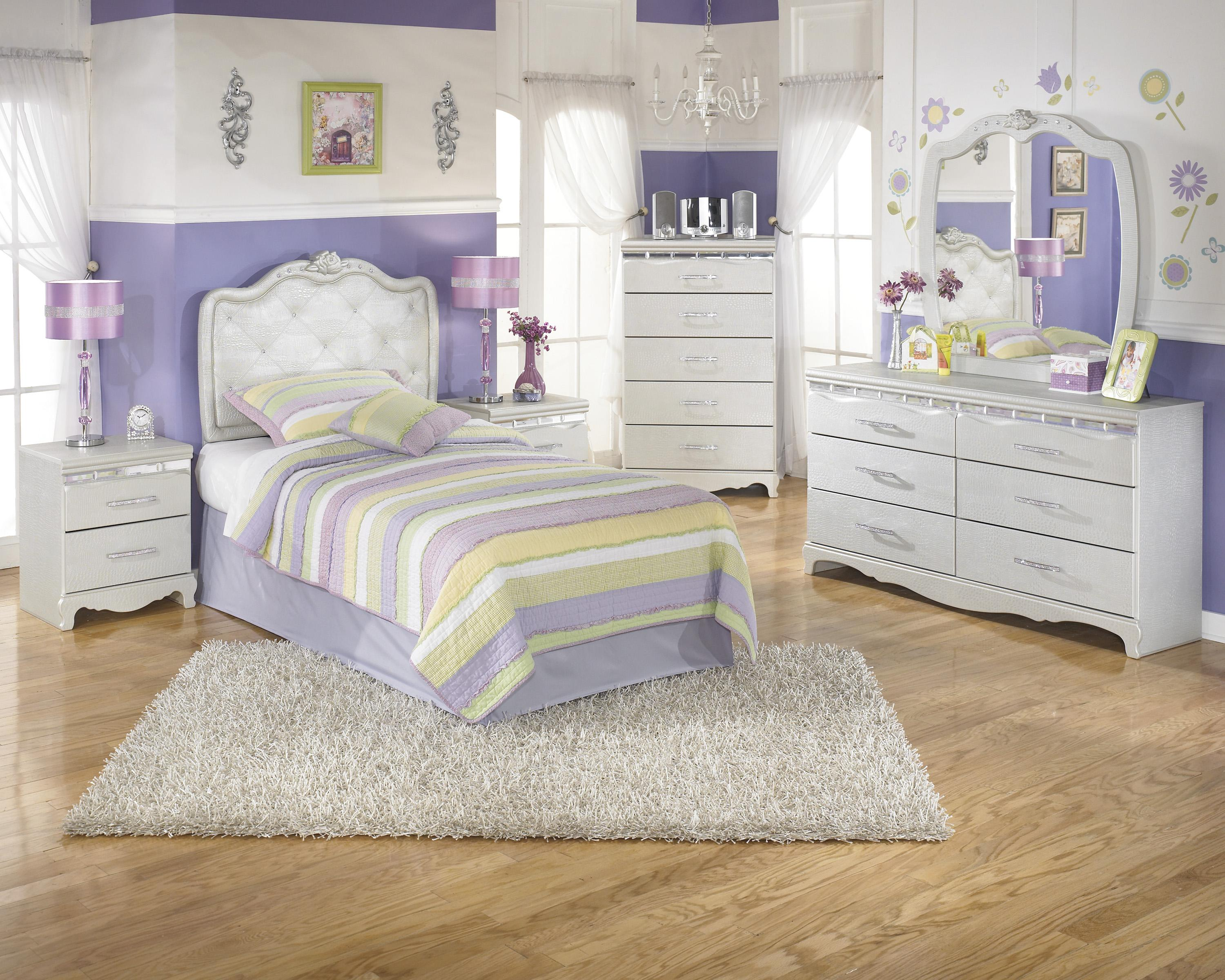 Signature Design by Ashley Zarollina Twin Bedroom Group - Item Number: B182 T Bedroom Group 3