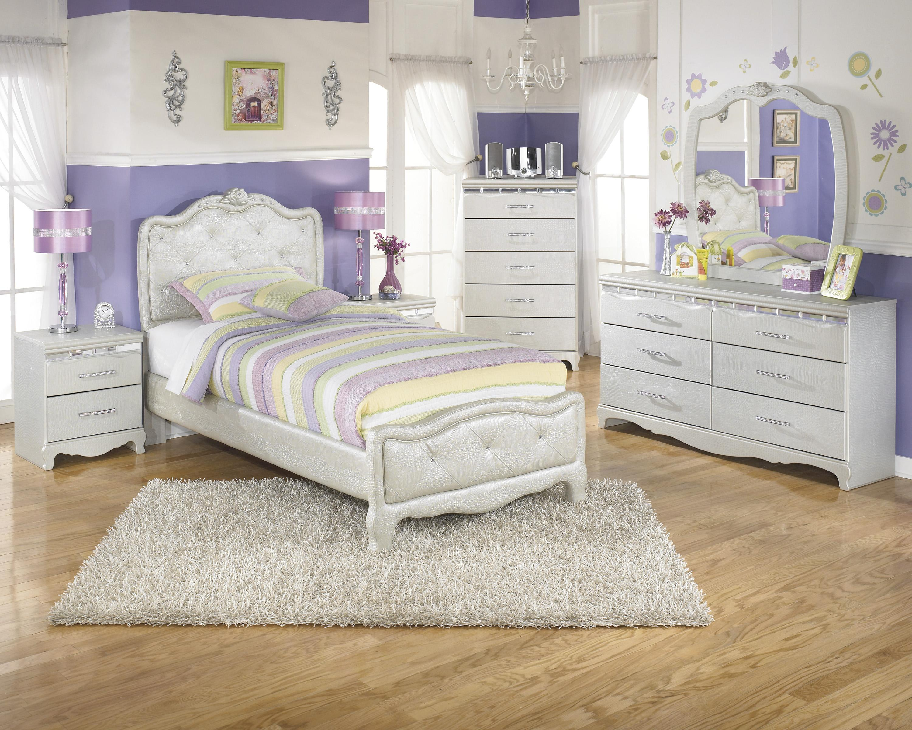 Signature Design by Ashley Zarollina Twin Bedroom Group - Item Number: B182 T Bedroom Group 1