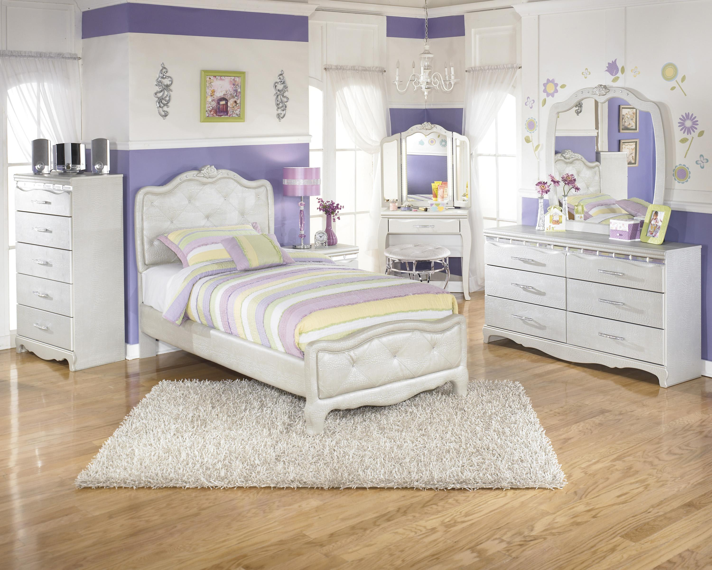 Signature Design by Ashley Zarollina Twin Bedroom Group - Item Number: B182 T Bedroom Group 2