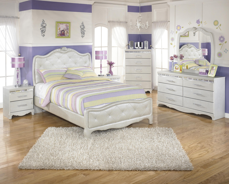 Signature Design by Ashley Zarollina Full Bedroom Group - Item Number: B182 F Bedroom Group 1