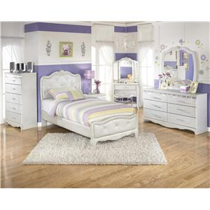 Signature Design by Ashley Zarollina Twin Bedroom Group