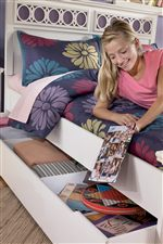 Versatile Trundle Storage Box For Storage or Mattress