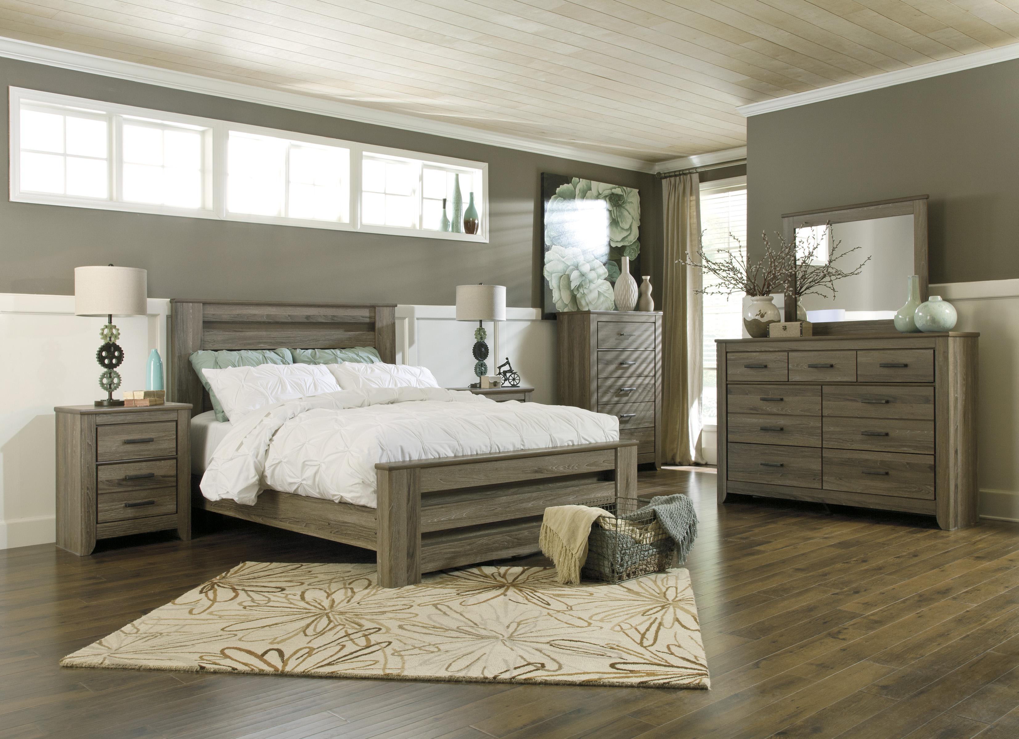 Signature Design by Ashley Zelen Queen Bedroom Group - Item Number: B248 Q Bedroom Group 2