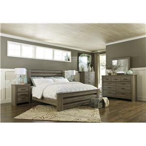 Signature Design by Ashley Zelen King Bedroom Group