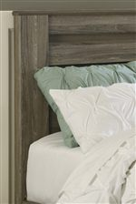 Horizontal Pocket Details for Modern Style on Beds