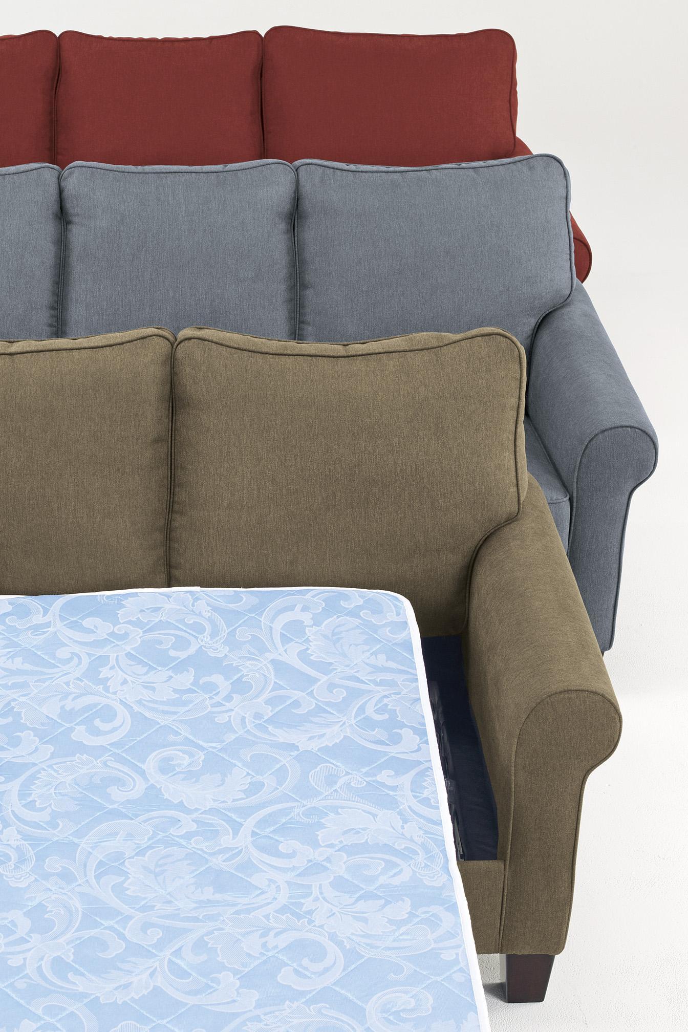 """Signature Design by Ashley Zeth Denim 58"""" Twin Sofa Sleeper"""