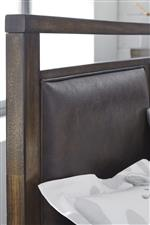 Headboard With Upholstered Panels