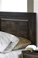 Paneling Detail on Headboard
