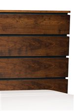 Paneled Detailing Showcased on Beds and Drawer Fronts