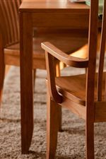 Square, Tapered Table Legs