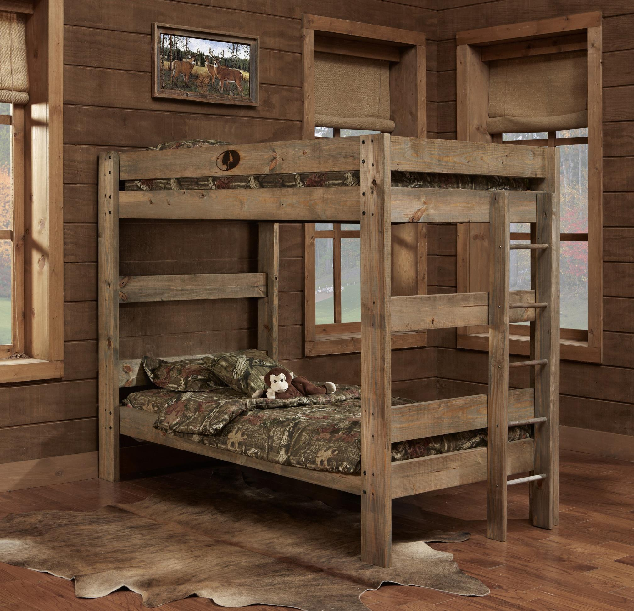 Simply Bunk Beds Mossy Oak Mossy Oak Rustic Style 3 Drawer Chest