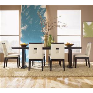 Bon Sitcom Taylor Folding Wood Bar Table