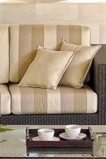 Plush Cushions in Sunbrella Fabric Offer Sink-In Relaxation Locations with Style that Won't Fade Away in the Sun