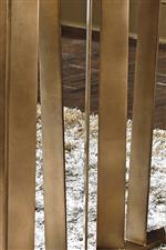Asymmetrical Metal Slats