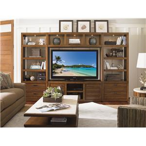 Sligh Longboat Key Spinnaker Point TV Console with Two Doors