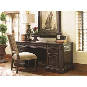 Sligh Prestonwood Ashbourne Media Console with Shelving and Doors