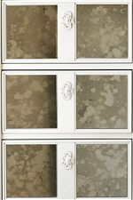 Select Pieces have Antique Mirror Details