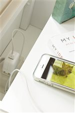 Charging Station and Night-Light Included in Night Stand