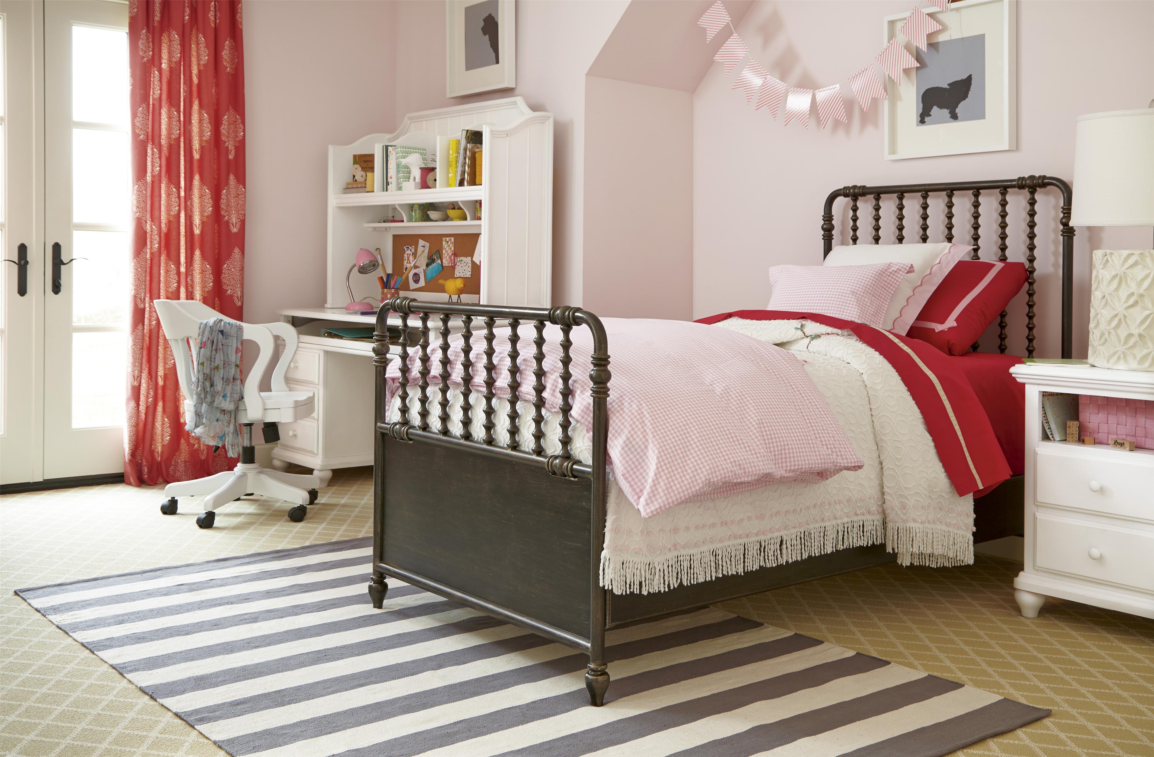 Smartstuff Black and White Full Bedroom Group - Item Number: 437B F Bedroom Group 6