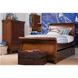 Morris Home Furnishings Sherwood Convertible Crib with Arched Back