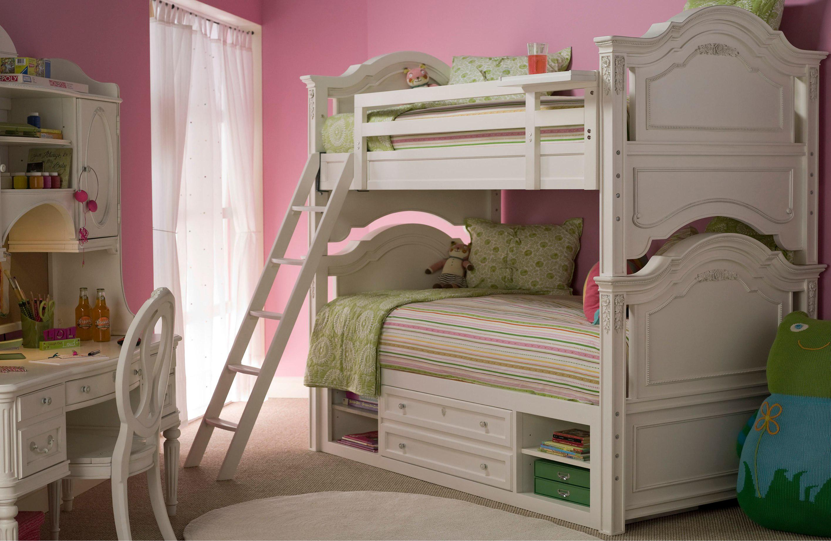 smartstuff gabriella twin-size panel headboard & footboard bed