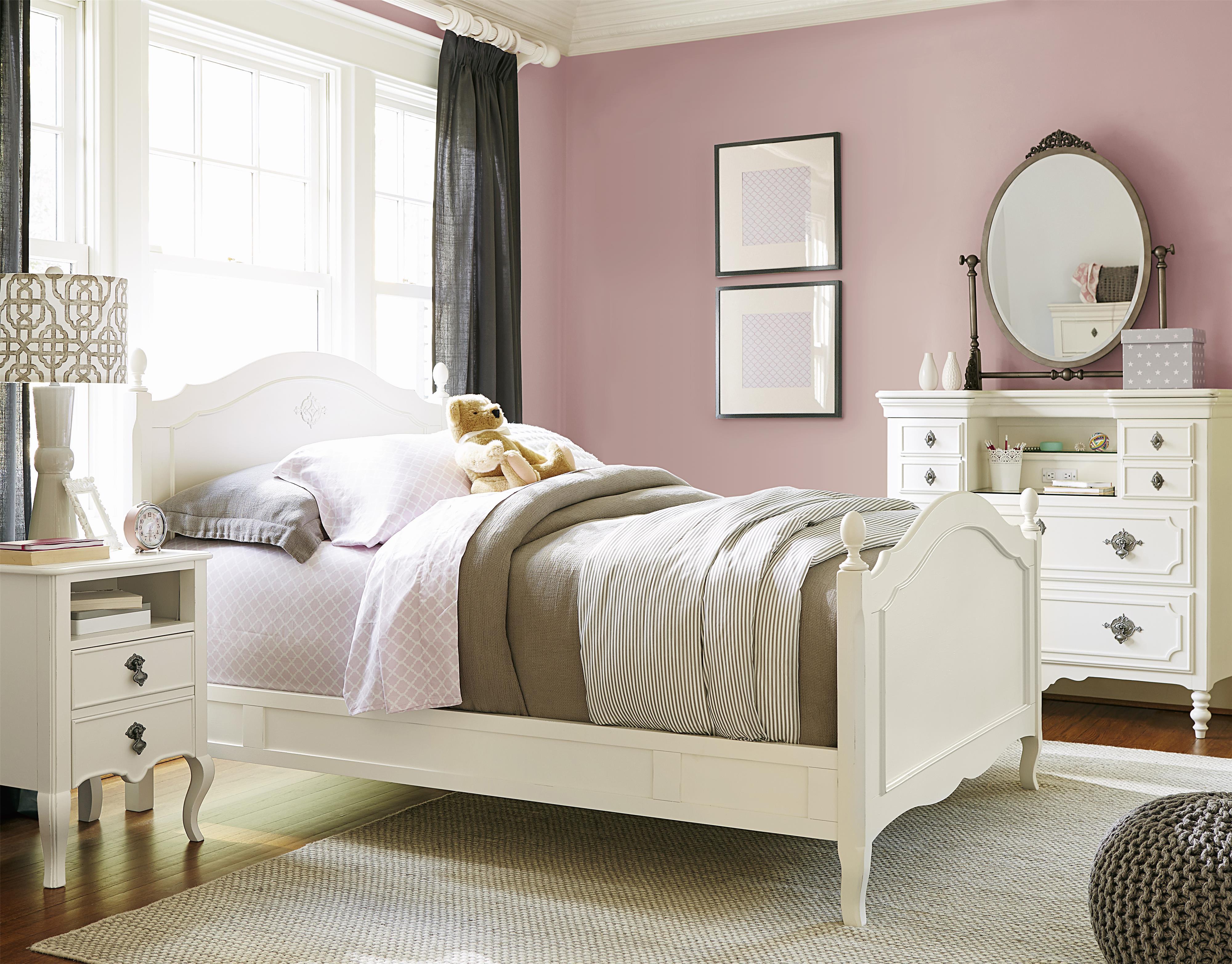 Smartstuff Genevieve Twin Bedroom Group - Item Number: 434A T Bedroom Group 3