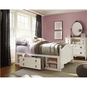 Smartstuff Genevieve Tall Chest with 5 Drawers