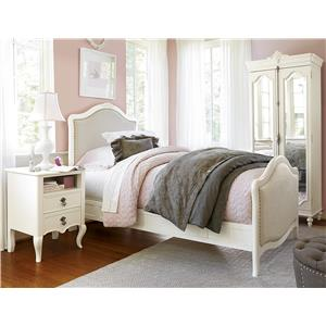 Morris Home Furnishings Penelope Bed Bench with Cabriole Legs