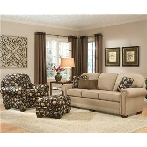 Smith Brothers 310 Stationary Living Room Group