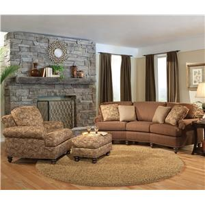 Smith Brothers 324 Stationary Living Room Group