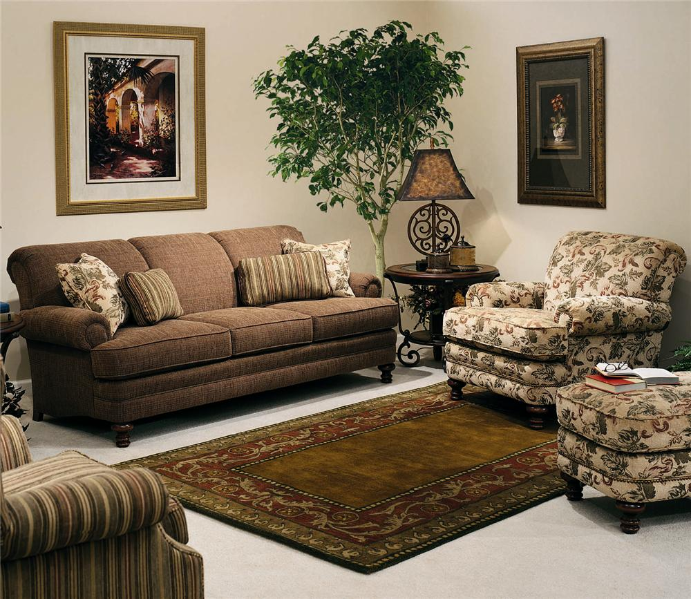 346 Stationary Living Room Group by Smith Brothers at Rooms for Less