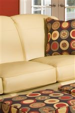 Tight Rounded Back Cushions with Boxed Seats and Welt Trim