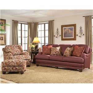 Smith Brothers 386 Stationary Living Room Group