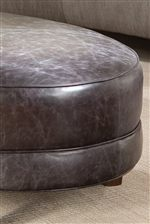 Oval Seat with Welt Trim