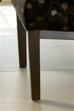 Tapered Legs (Shagbark Finish) Create a Modern Appeal