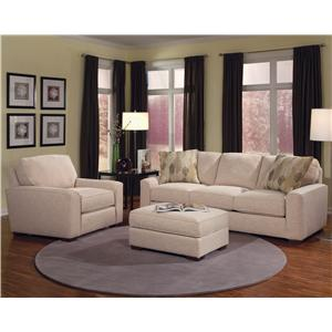 Smith Brothers Build Your Own (8000 Series) Stationary Living Room Group
