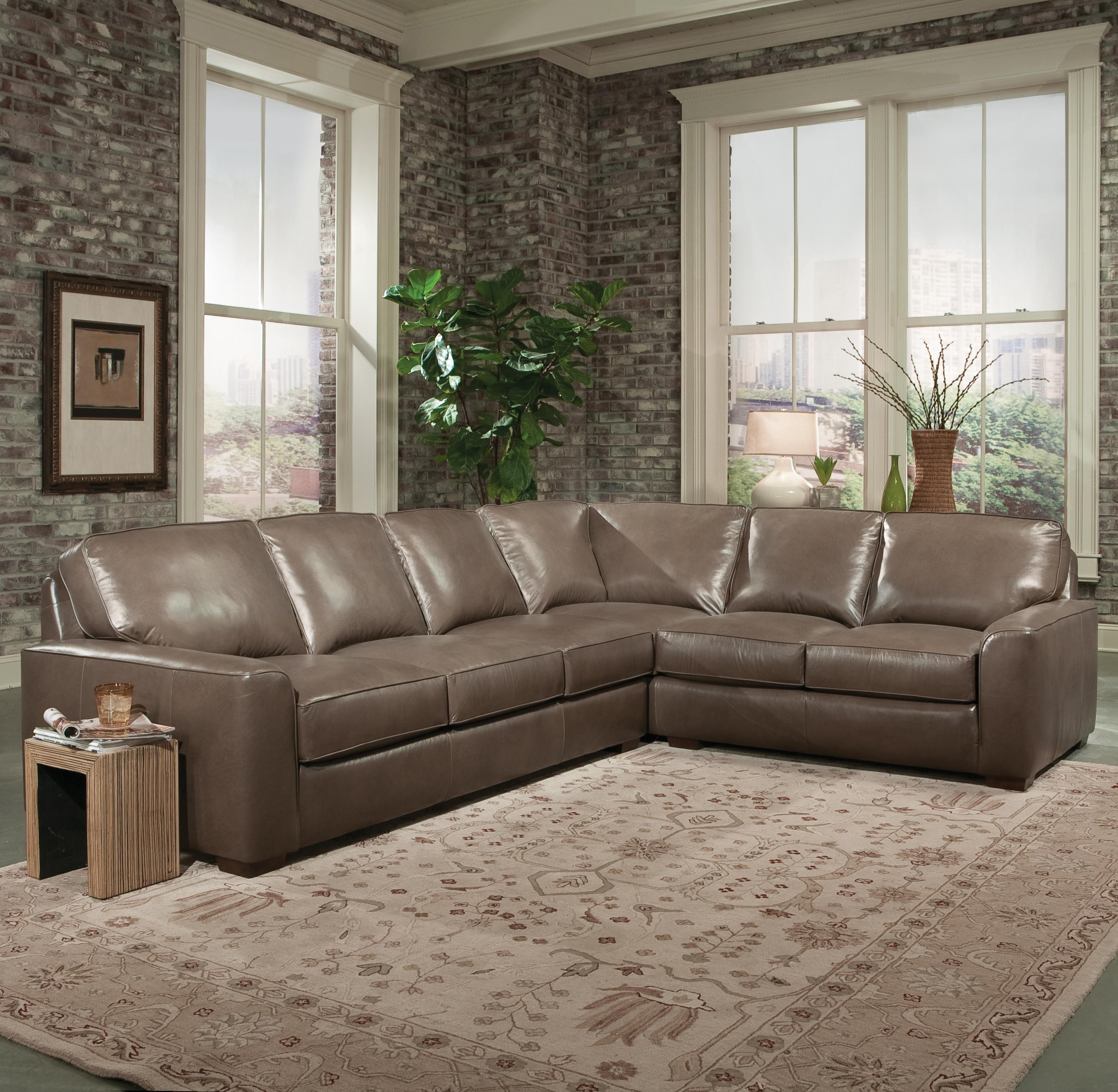 Smith Brothers Build Your Own (8000 Series) Large Corner Sectional Sofa |  Wayside Furniture | Sectional Sofas