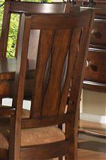 Panel Back Chair Design