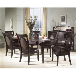 Morris Home Furnishings Signature Upholstered Side Chair